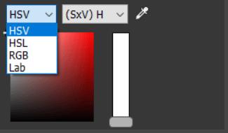 4.色空間の選択